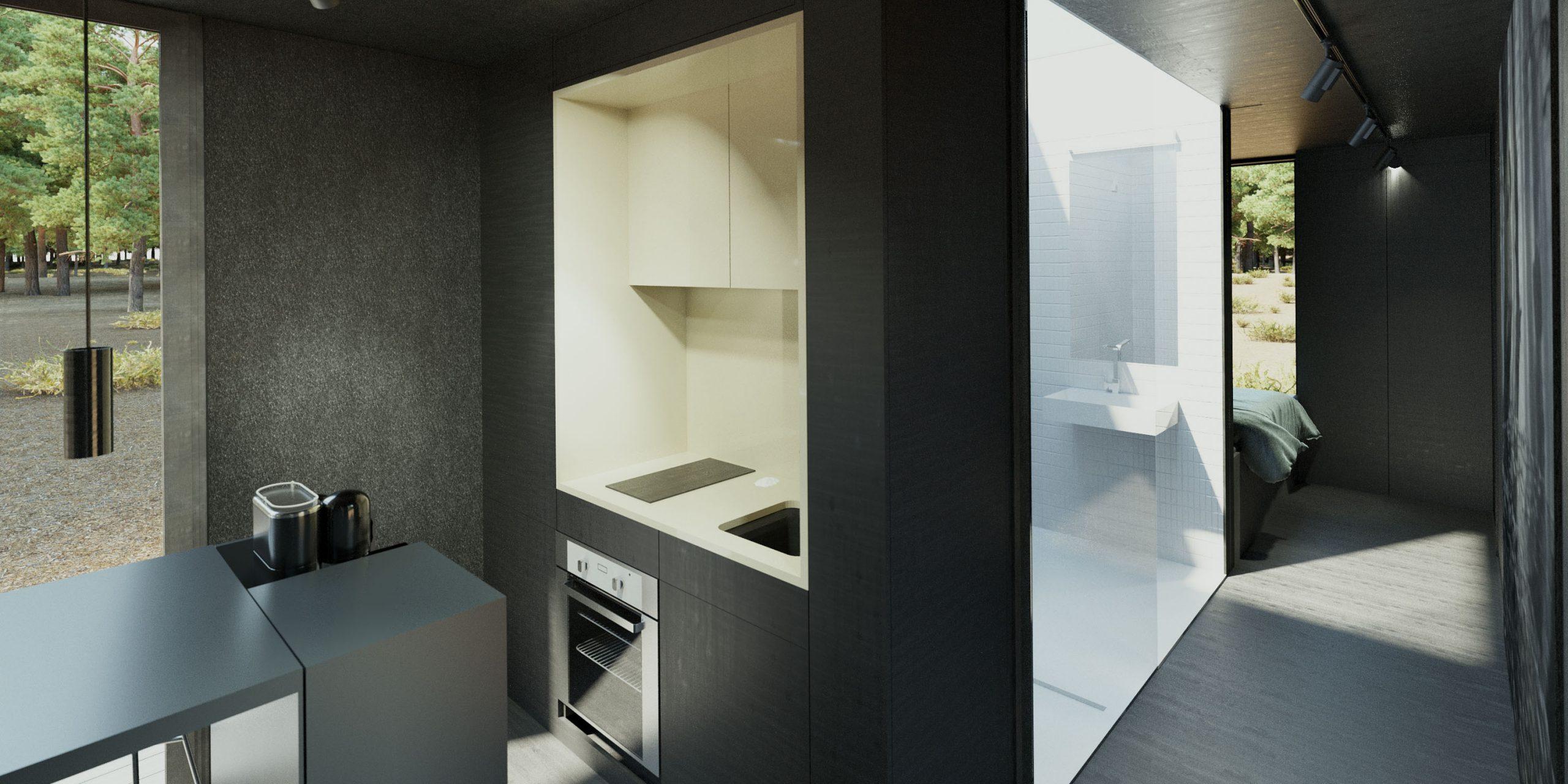 Cuber – Interieur keuken en badkamer