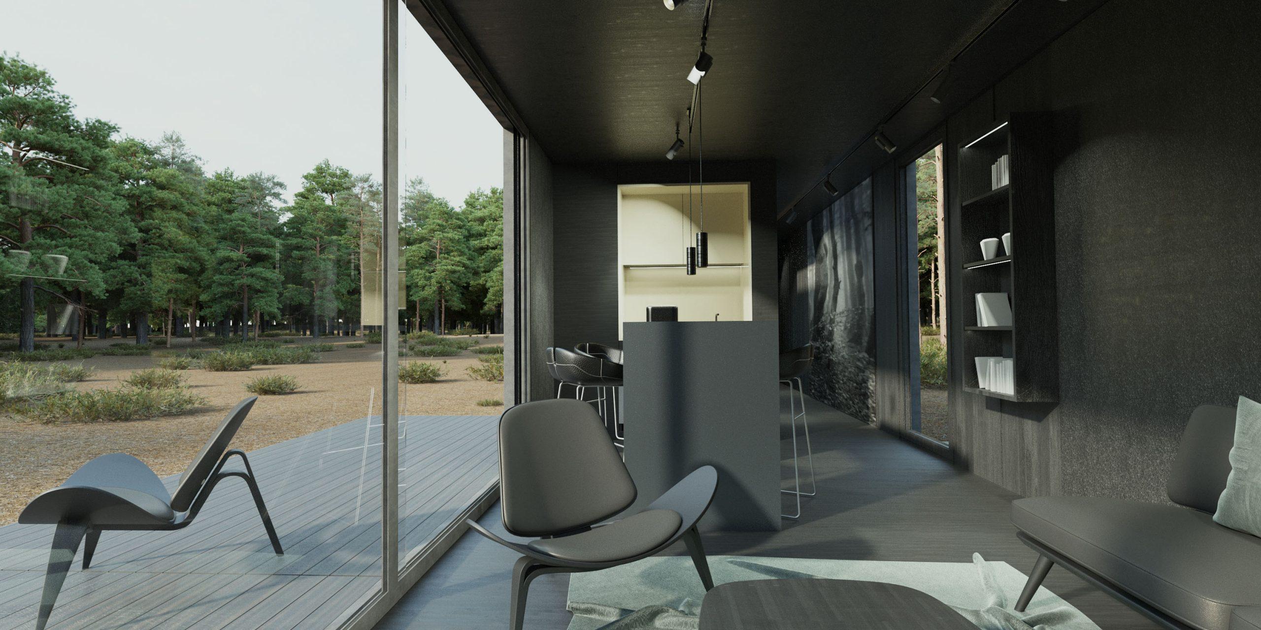 Cuber – Interieur woonkamer